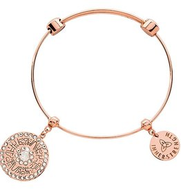 Nikki Lissoni Inner Strenth' RG Charm Bangle
