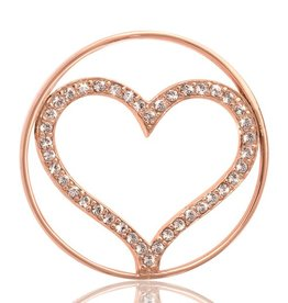 Nikki Lissoni 'Sparkling Heart' Medium RG Coin