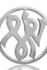Nikki Lissoni  'Courage' Medium Silver Coin
