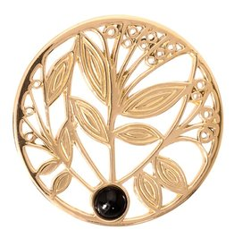Nikki Lissoni 'Black Onyx Tree' Medium Coin