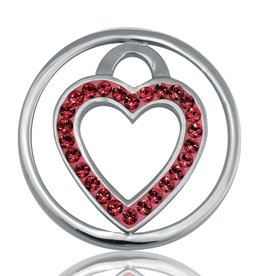 Nikki Lissoni 'Love Keeper' Small LE Silver Coin