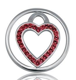 Nikki Lissoni 'Love Keeper' Small LE Silver Coin
