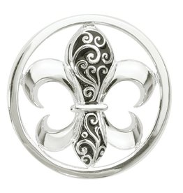 Nikki Lissoni 'French Curly Lily' Medium Coin
