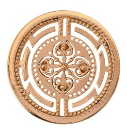 Nikki Lissoni 'Roman Maze' Medium Gold Coin