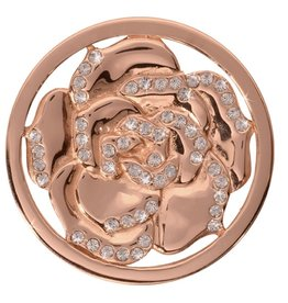 Nikki Lissoni 'Sparkling Hortensia' Medium Gold Coin