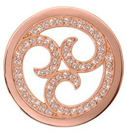 Nikki Lissoni 'Sparkling Curls' Medium RG Coin