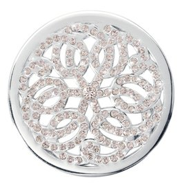 Nikki Lissoni 'Sparkling Baroque' Medium Silver Coin