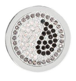 Nikki Lissoni 'Yin Yang' Small Silver Coin