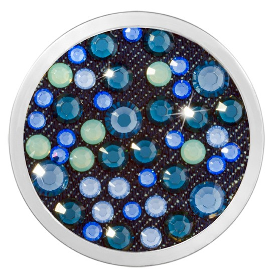 Nikki Lissoni Nikki Lissoni Denim Dreams Collection 'Dodger Blue' Medium Coin