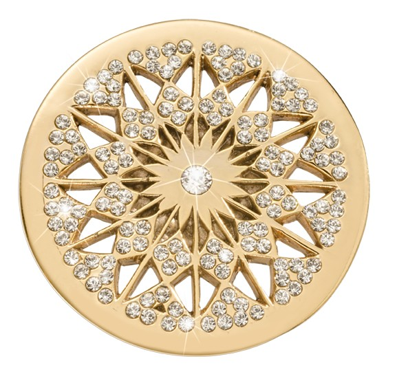 Nikki Lissoni Nikki Lissoni 'Rising Star from Marrakech' Medium Gold Coin - C1525GM
