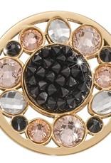Nikki Lissoni Nikki Lissoni 'Sunflower Rock Crystal' Medium Coin - C1551GM