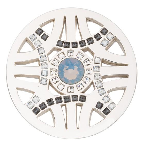 Nikki Lissoni 'Royal Chic' Silver Coin