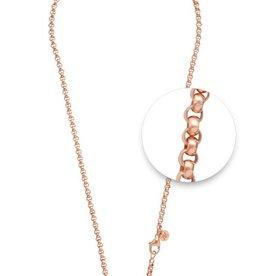 "Nikki Lissoni 18"" Rose Gold Plated Belcher Necklace"