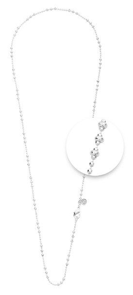 "Nikki Lissoni Nikki Lissoni 24""  Delicate Silver Necklace -  NX01S60"