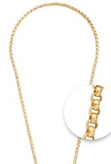 "Nikki Lissoni Nikki Lissoni  36"" Gold Chain Necklace - N02G90"