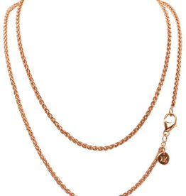 "Nikki Lissoni 32"" Gold  Plated Chain Necklace"