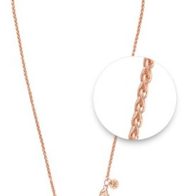 "Nikki Lissoni 32"" Rose Gold Plated Necklace"