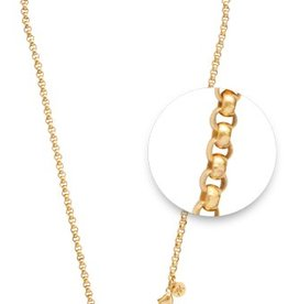 "Nikki Lissoni 18"" Gold Plated Chain Necklace"
