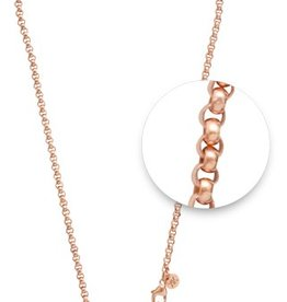 "Nikki Lissoni 18"" Rose Gold Chain Necklace"