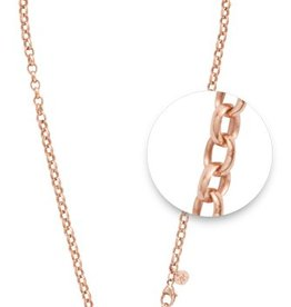 "Nikki Lissoni 36"" Rose Gold Plated Necklace"