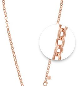 "Nikki Lissoni 18"" Rose Gold Necklace"