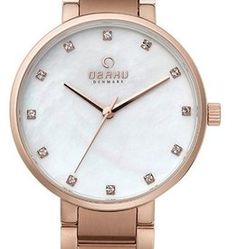 Obaku Watches Women's Obaku Fuschia -  Mother of Pearl