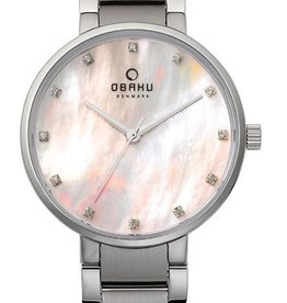 Obaku Watches Women's Obaku Coral - Mother of Pearl