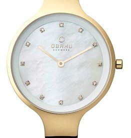 Obaku Watches Women's Obaku Sky Collection  Gold Watch