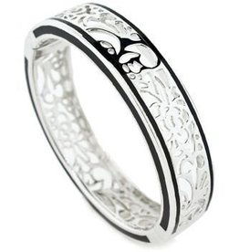 AHC Perception Lace Silver Bangle