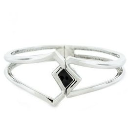 AHC Geo Diamond Silver Bangle
