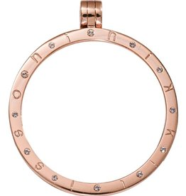 Nikki Lissoni Large Rose Gold Swarovski Pendant