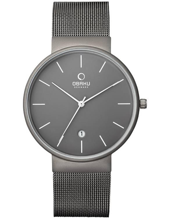 Obaku Watches Men's Klar Titanium Watch