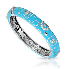 Belle Etoile Galaxy Turquoise &  Sterling Bangle