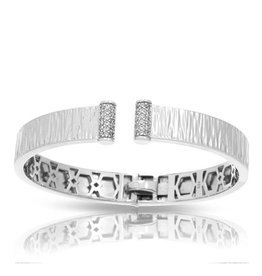 Belle Etoile Heiress  Sterling Silver Bangle