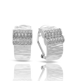 Belle Etoile Heiress Sterling Silver Earrings