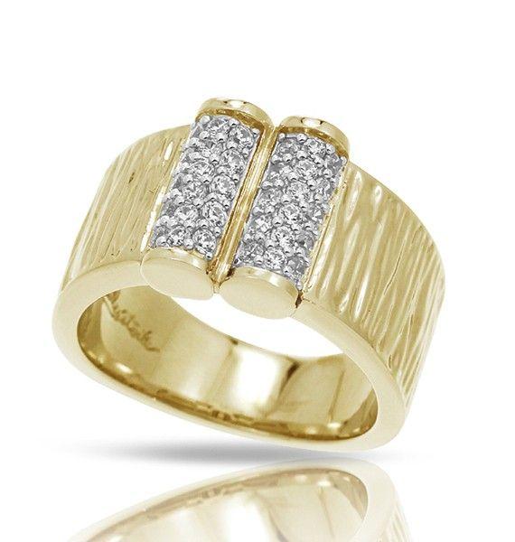 Belle Etoile Belle Étoile Heiress 18K Gold Vermeil  Ring