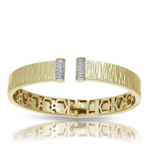Belle Etoile Belle Étoile Heiress 18K Gold  Vermeil Bangle