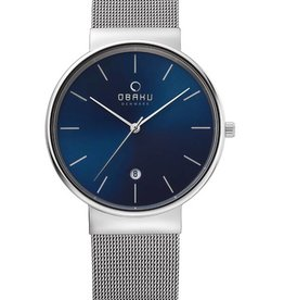 Obaku Watches Men's Klar - Cian & Stainless