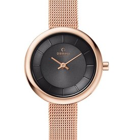 Obaku Watches Women's Stille -  Blush & Rose Gold