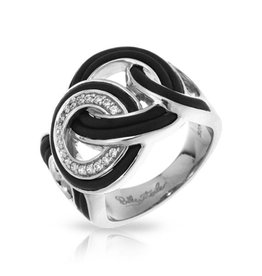 Belle Etoile Unity Collection Sterling Silver Ring