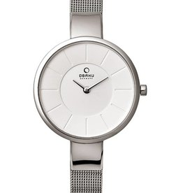 Obaku Watches Women's Sol - Steel