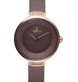 Obaku Watches Women's Varm - Walnut