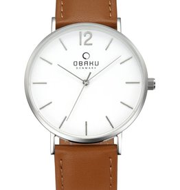 Obaku Watches Men's Mark - Mocha