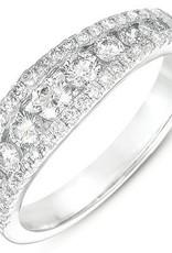 S. Kashi 14k  Diamond Channel Set Ring  .79 CT.W