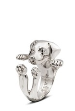 Coles of London COLDFANE00021S LABRADOR HUG RING SS