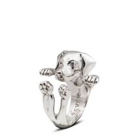 Coles of London Dog Fever Labrador Hug Ring