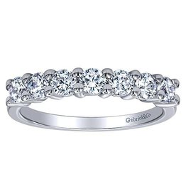 Gabriel & Co. 14k Round Diamond Band .75 ctw