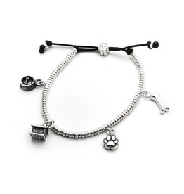 Coles of London Dog Fever Charm Bracelet