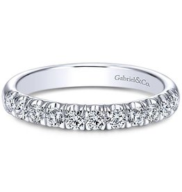 Gabriel & Co. 14K Contemporary Diamond Band .51 ctw