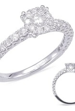 S. Kashi S. Kashi 14K Engagement Ring .69 CTW